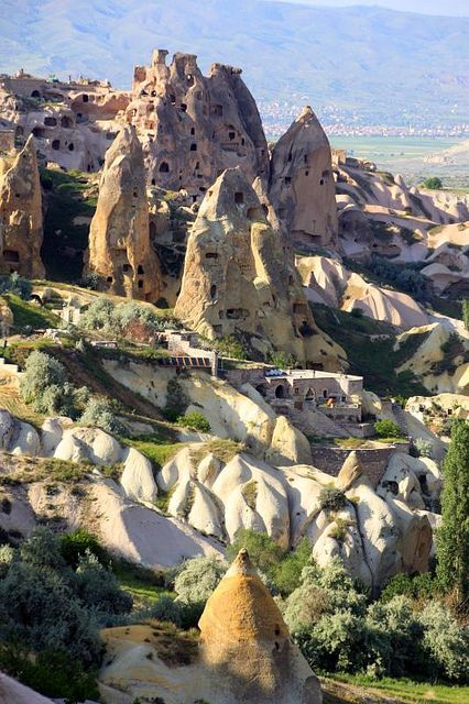 Cappadocia, Turkey is a historical region in Central Anatolia, largely in Nevşehir Province is It's a geological oddity of honeycombed hills and towering phallic boulders of otherworldly beauty.