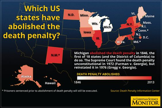 Death penalty: The state of capital punishment in the US, worldwide - The Christian Science Monitor - CSMonitor.com