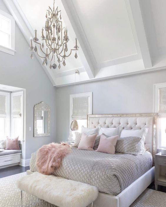 50 Amazing Comfy Master Bedroom Design Ideas Gray Master Bedroom Master Bedroom Interior Design Bedroom Interior