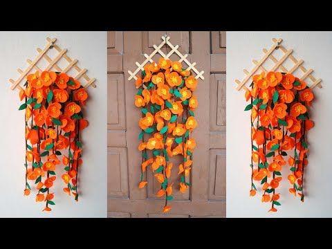 Popsicle Stick Crafts Diy Ideas Ide Kreatif Hiasan Dinding Dari