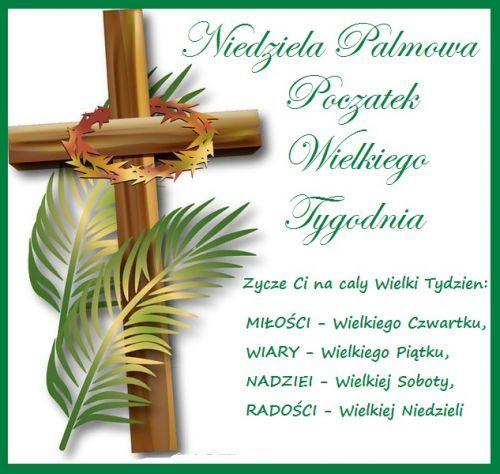 Kartka Życzę Ci na cały Wielki Tydzień... | E-kartki.net.pl | Place card holders, Easter, Jesus pictures