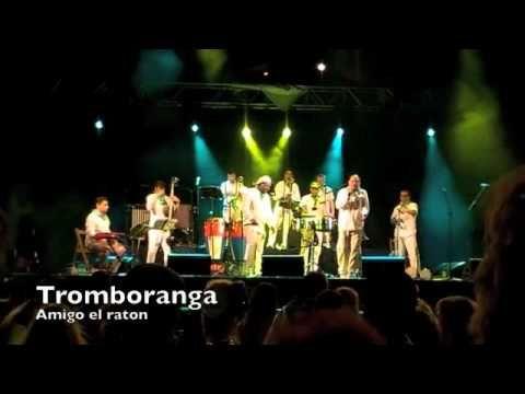 """Tromboranga, """"Amigo el Raton"""" , en vivo, en Huesca"""