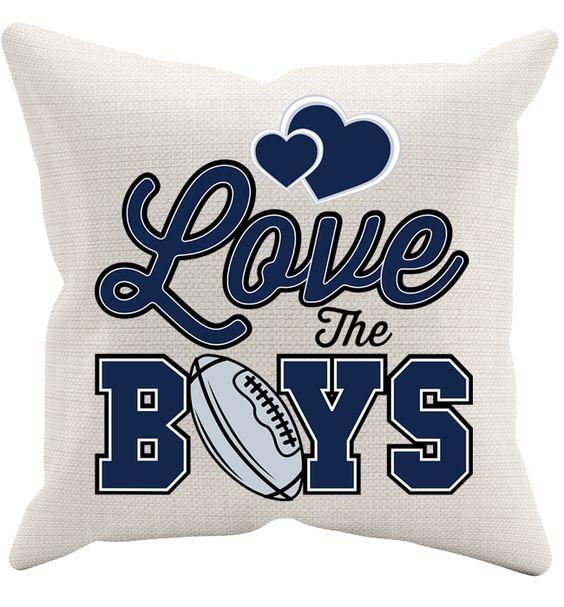 Love The Boys Pillowcase