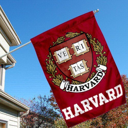 Harvard Crimson University College House Flag by College Flags and Banners Co.. $33.95. Harvard University House Flag is 28x40 inches in size, is made of Two-Ply Nylon with Liner, has a top sleeve for insertion of a wood or aluminum flagpole, and the Double Sided Licensed NCAA School logos are screen printed into this Harvard Crimson University College House Flag.: