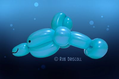 My Daily Balloon: 11th May - Simple Dolphin