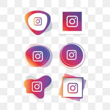 الانستغرام انستا ايقونة شعار مجموعة مجموعة وسائل الاعلام الاجتماعية ناقلات المصور وسائل التواصل الاجتماعي المرسومة الانستغرام الايقونات الرموز الاجتماعية Png Instagram Logo Instagram Icons Logo Design Free Templates