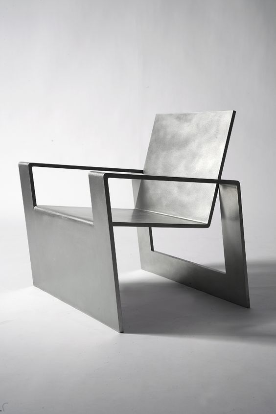 Forrest Myers, Manifold, stainless steel chair (edition of 8). @Deidré Wallace