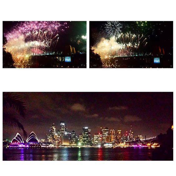 flashback to NYE 2014-2015 in Sydney  #NYE #Sydney #fireworks #city #lights #cityscape #sydneyharbourbridge #sydneyoperahouse #reflection #colour #night #newyear #australia @visitnsw #visitnsw #amazing #memories by chloechowe http://ift.tt/1NRMbNv