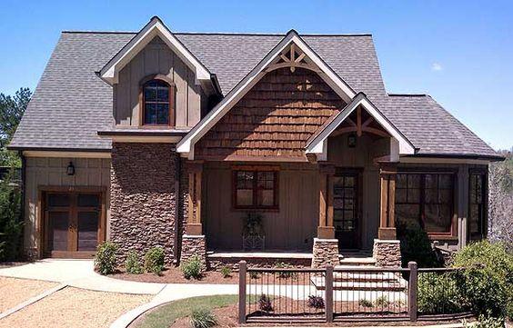 Craftsman Cottage Craftsman And House Plans On Pinterest