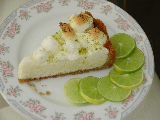 Aprenda a preparar a receita de Torta de limão