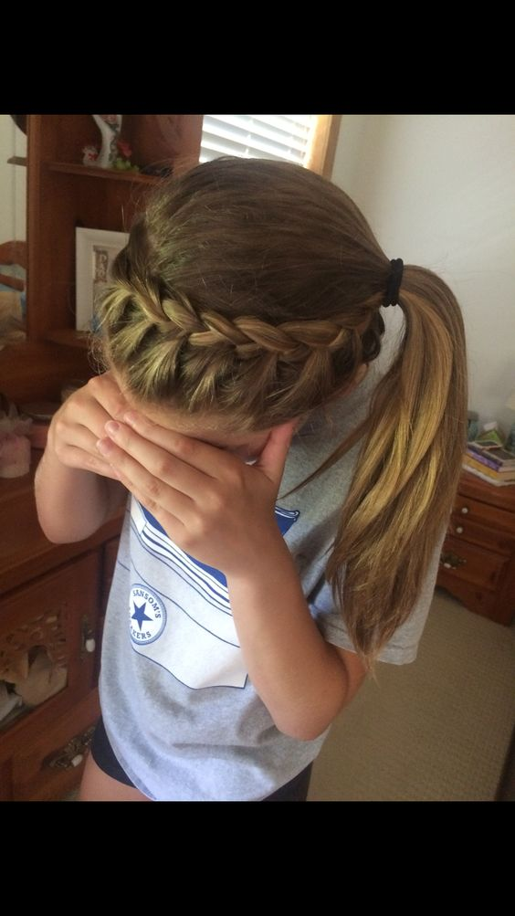 volleyball hair :)