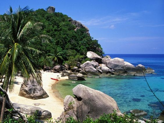 Ilha de Koh Tao, na Tailândia