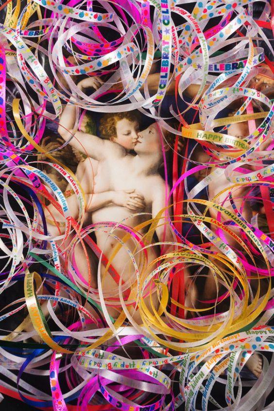 Desafio Criativo: Conheça o 'Accident Series', onde nenhuma obra de arte sai ilesa de uma colagem ou justaposição