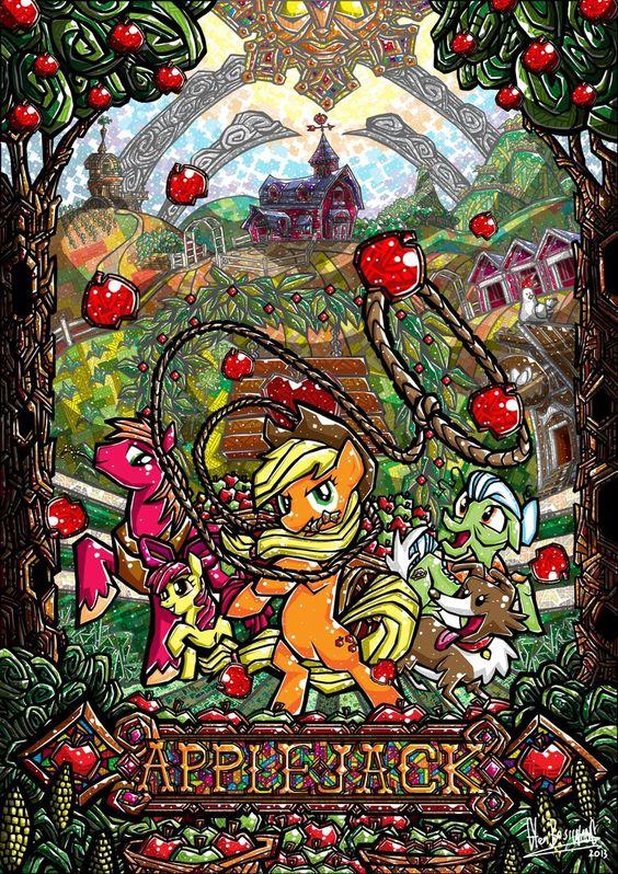Applejack by glenbw