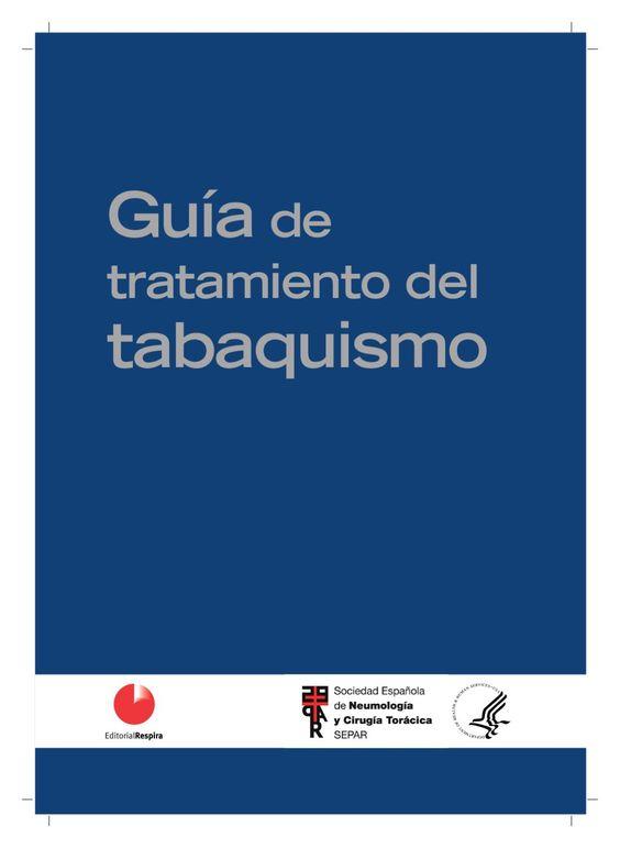 Acceso gratuito. Guía de tratamiento del tabaquismo