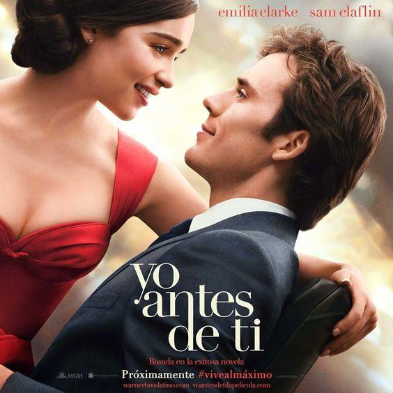 Poster oficial de #YoAntesdeti, adaptación de la novela de mismo nombre de Jojo Moyes... Mañana tendremos trailer