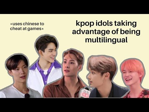 Kpop Idols Taking Advantage Of Being Multilingual Youtube Kpop Kpop Idol Idol