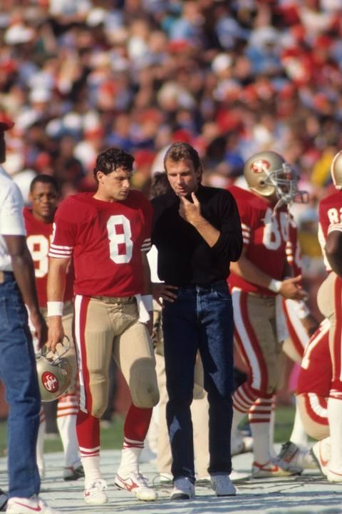 Steve Young and Joe Montana. I am not a Niner fan.. but I loved watching these 2 play!