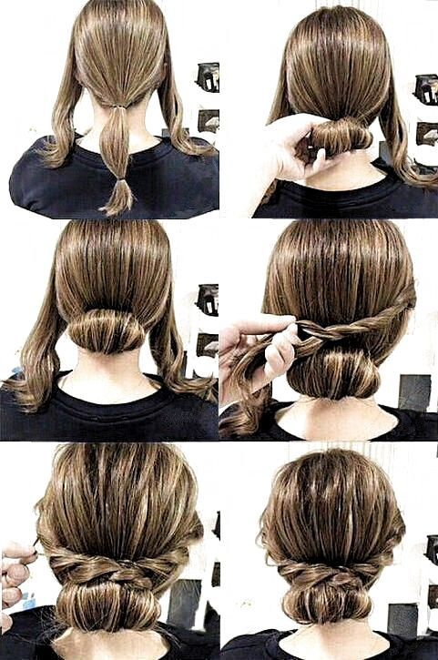 Hairstyle Tutorials For Medium Hair In 2020 Diy Hairstyles Easy Hairstyles Thick Hair Styles