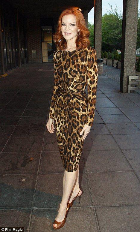 Marcia Cross: Leopard Print, Bags Crossbodies, Marcia Cross, Celebrity Fashion, Cross Arrived, Cross Leopard, Celebrity Styles