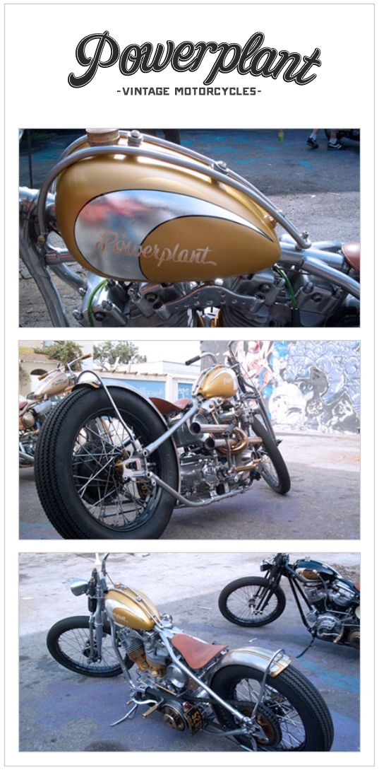 Powerplant Vintage Motorcycles