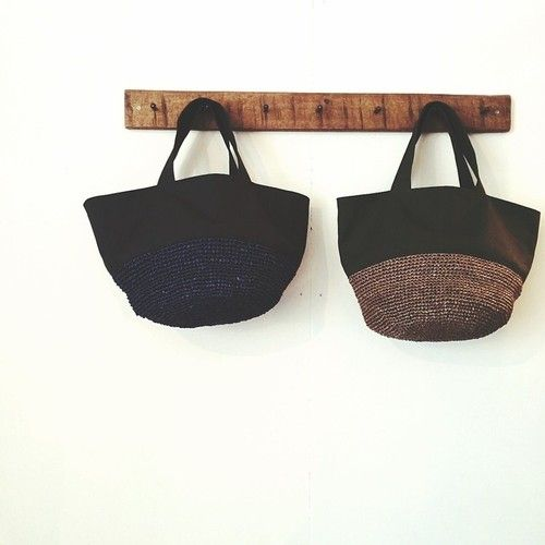 Inspiration from Itokara Crochet Bag: I just love her work