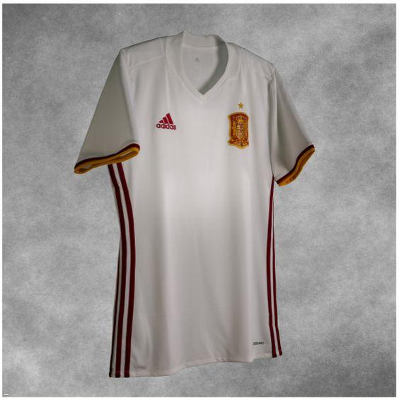 Camiseta Blanca Seleccion Española 2016: