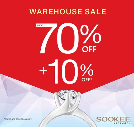 Sookee Jewellery Warehouse Sale Up to 80% Off - Why Not Deals