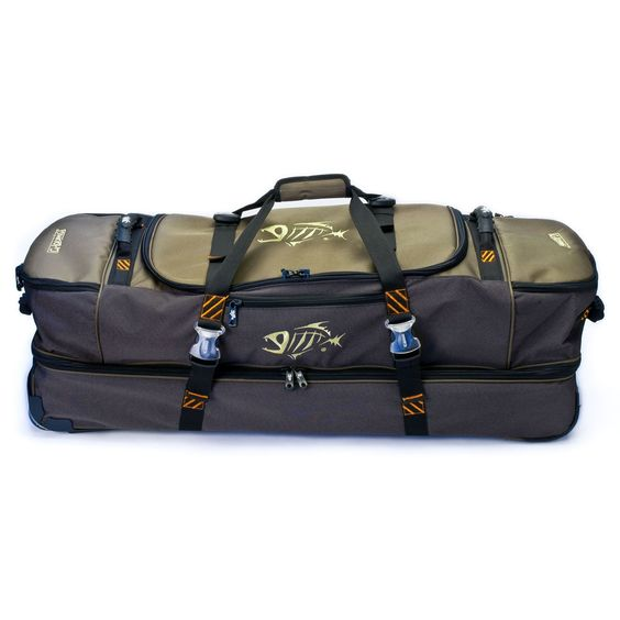G. Loomis Cargo Bolsa Roller - Musgo - 36 & quot; x13 & quot; x15 & quot; I'm gonna need this for my trip to Belize!