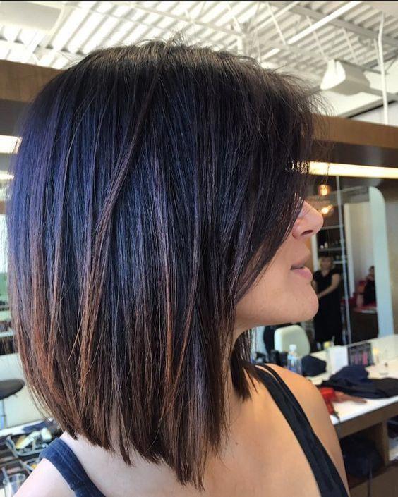 Medium Length Bob Haircuts For Thick Hair Bobhaircut In 2020 Hair Styles Haircut For Thick Hair Thick Hair Styles