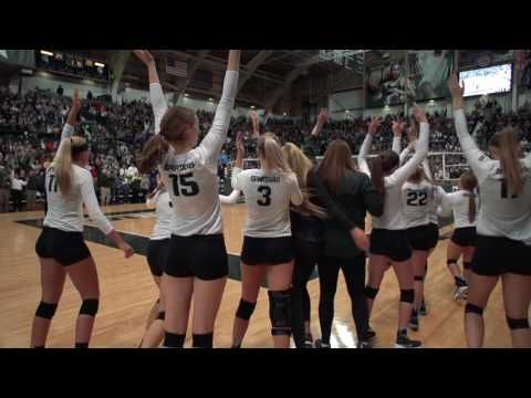 These 33 Big Ten Conference Volleyball Highlights Are Featured At The Beginning Of Home Games And Matches To Motivate The Crowd And Introduce The Players More