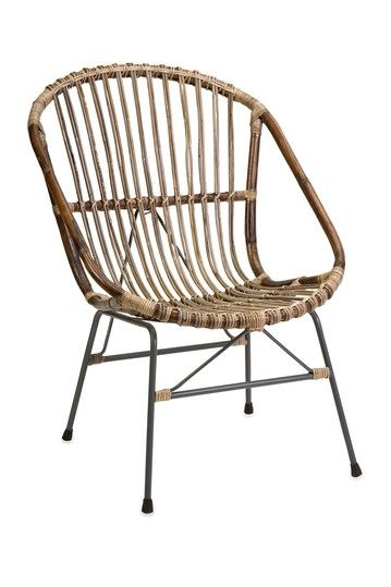 Superior Kobu Natural Rattan Accent Chair   Brown
