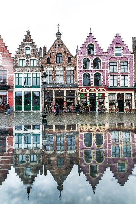 The Markt of Bruges