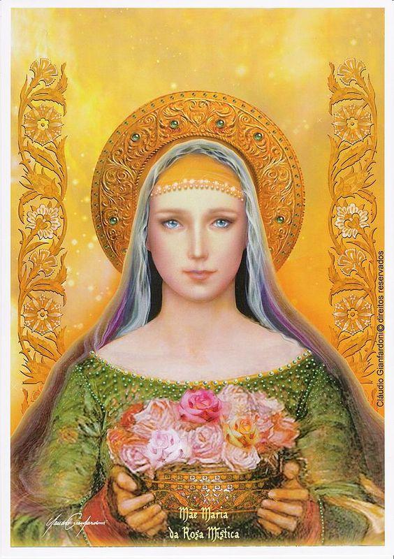 Madre María - Rosa mística: