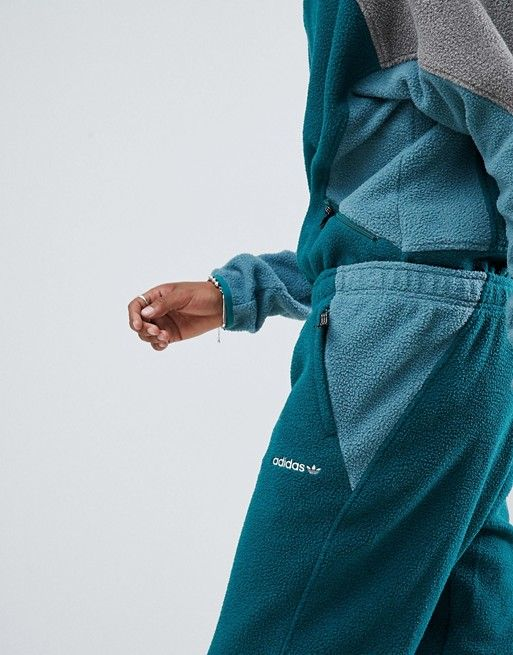Armonía Convocar Fábula  adidas Originals EQT Polar Fleece Sweatpants In Green DH5188 | Fleece  joggers, Polar fleece, Adidas originals