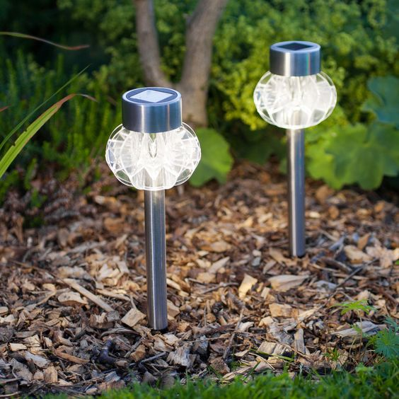 solar outdoor lighting Best Solar Lights for Garden Pinterest