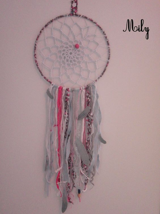 Attrape reve et crochet mobiles dreamcatcher pinterest crochet - Diy attrape reve ...