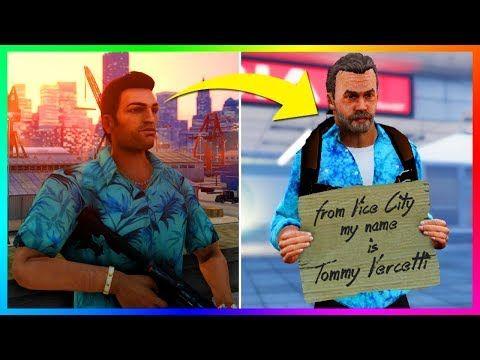 15 Easter Eggs That Proves Tommy Vercetti Is Still Alive In Grand Theft Auto 5 Gta 5 Youtube Grand Theft Auto Gta 5 Gta