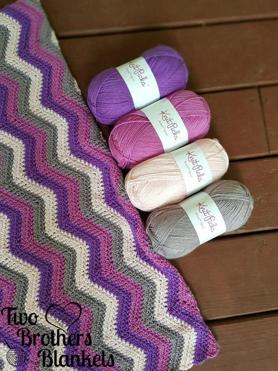 happy-herringbone-chevron Crochet Pinterest