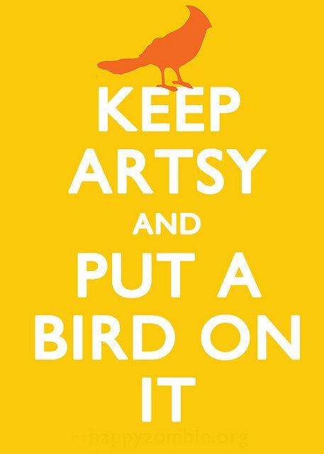keep artsy