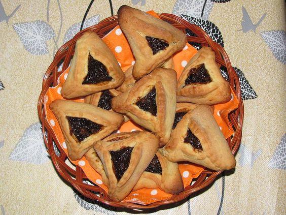 Hamentaschen Recipe for Purim! #puzzleisrael #israel #travel #purim #recipe #hamentaschen