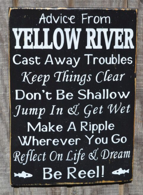 River advice