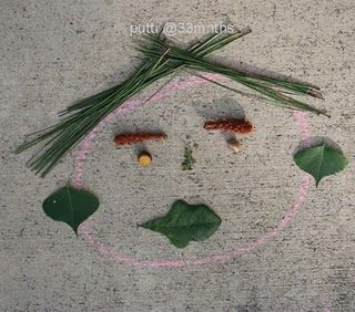Silly little nature faces