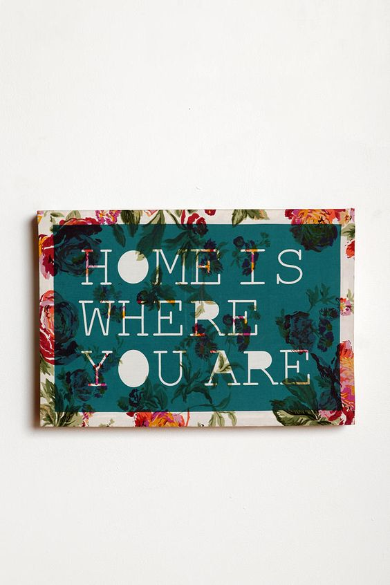 I would make with a different quote...staple fabric over a cheap dollar store frame, tape off edges, stick on some cute letters, paint over the whole thing, peel tape & letters off...ta-da!