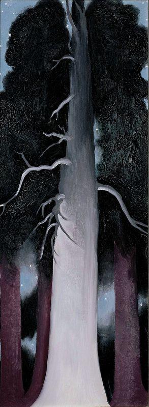 Georgia O'Keeffe: Bear Lake, New Mexico, 1930, oil on canvas