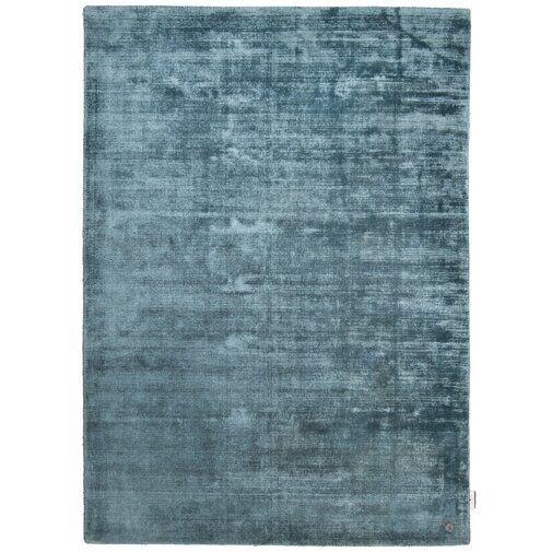 Shine Handwoven Aqua Blue Rug