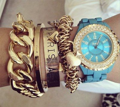 Lots of Arm Candy