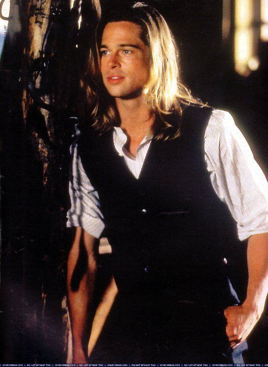 Bradpittpicturesinlegendsofthefall Brad Pitt Legends Of The Fall With Images Brad Pitt Long Hair Styles Interview With The Vampire