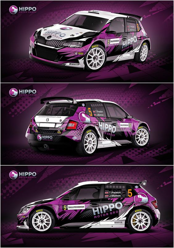 design for thomas preston and jack morton from hippo rally