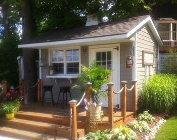 Denco Storage Sheds | Backyard Garden Custom Mini Barns, Cabanas